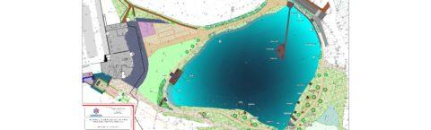 Aménagement des abords du Lac et du parking du Praz