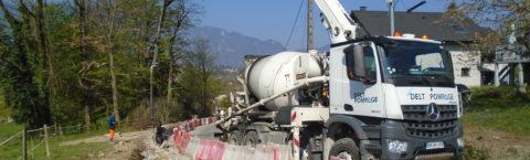 Aménagement et sécurisation de la montée du Mollard à Drumettaz - Clarafond